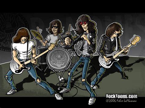 wallpaper cartoon band ramones cartoon by gunsnmotley