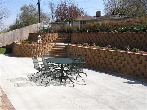 11 24 12 Backyard Retaining Wall