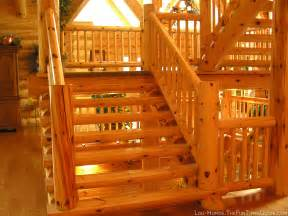 Log Home Stairs by How We Chose A Log Staircase For Our Log Cabin Fun Times