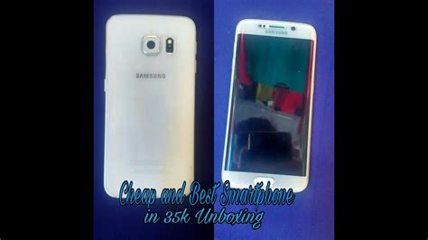 Samsung S6 Gadget samsung galaxy s6 edge unboxing and overview quot white pearl quot gadget addict