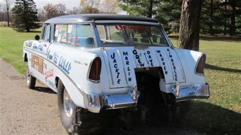 nomad drag car 1956 chevrolet nomad drag car gasser pro race rod