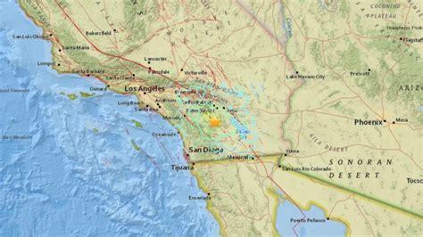 earthquake california today m5 2 earthquake shakes california earth earthsky