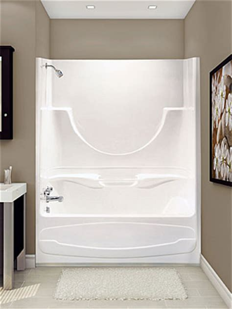 one piece acrylic bathtub shower acrylic bath tubs
