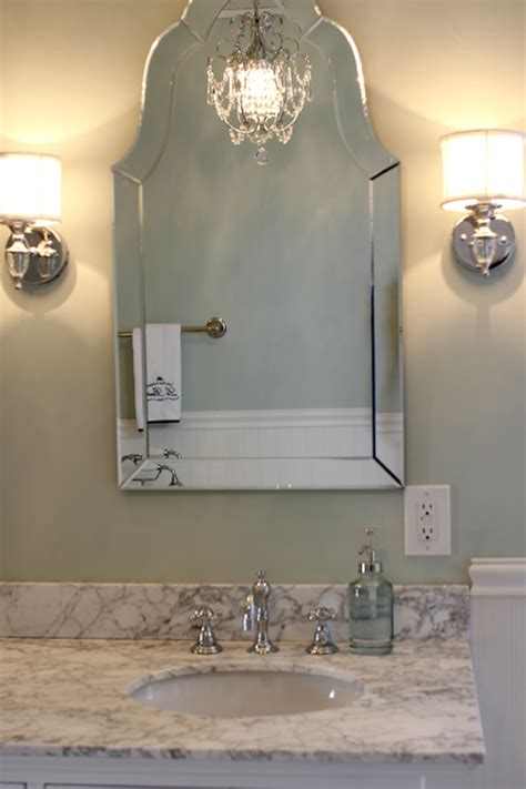 Allen Roth Bathroom Vanity Lights Allen Roth Hovan Arch Frameless Mirror Traditional