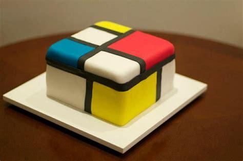 Kitchen Inspiration mondrian cake my cakes pinterest mondrian muffins