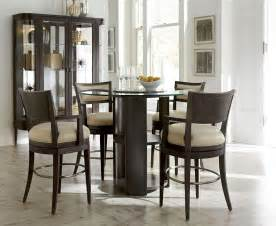 high chair dining room set greenpoint high dining room set from art 214230 2304