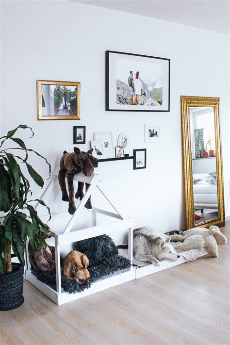 hundeschlafplatz selber bauen whoismocca modeblogger interiorblog hundehuette diy selber