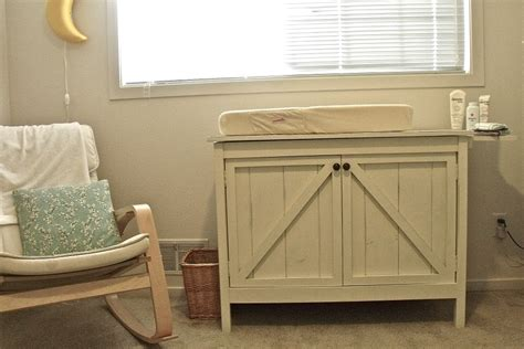 white changing table brookstone diy projects