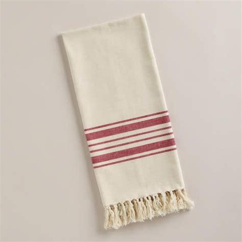 red villa stripe kitchen tea towel world market 10 best images about kitchens on pinterest pull out