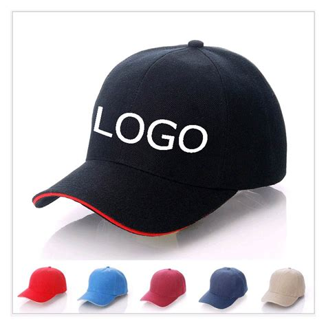mlb logo on hat wholesale customized baseball caps logo printing