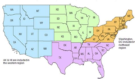 map of the united states divided by time zones us map divided by regions npmrds map thempfa org