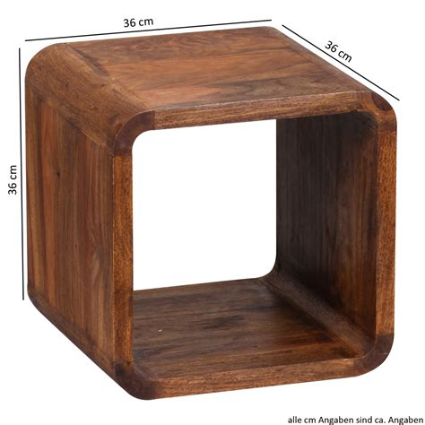 solid wood side table finebuy sheesham solid wood side table nesting tables set