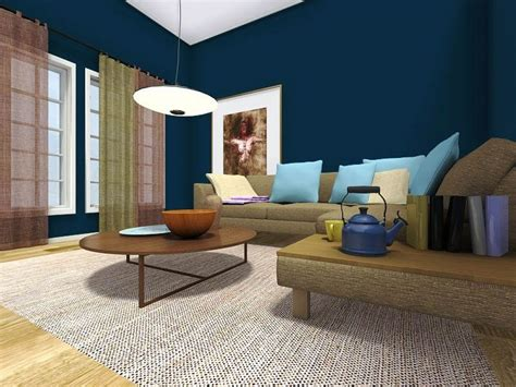warna cat interior ruang tamu minimalis dicampur aja geh