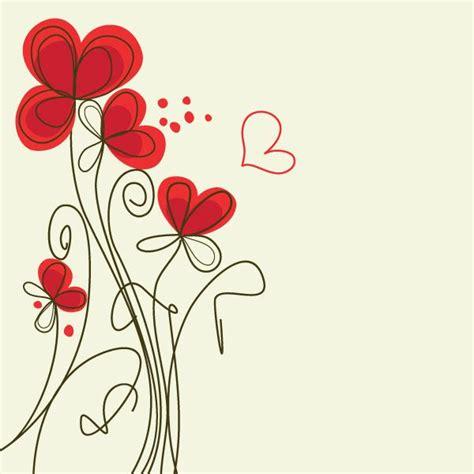 imagenes tiernas vectorizadas tarjetas con flores bonitas para descargar originales
