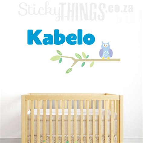 wall stickers south africa boys name wall sticker stickythings wall stickers south africa