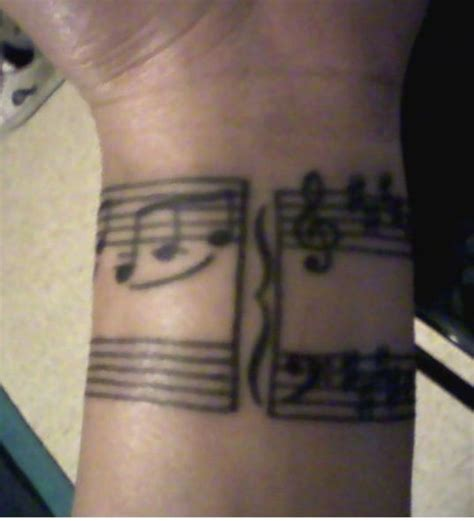 music notes on wrist tattoo 52 tattoos on wrist