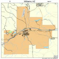 williams arizona map 0483160