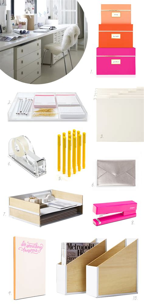 chic office supplies chic office organization inspiration yvotube com