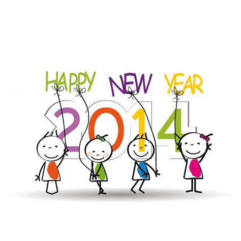 new year 2014 clipart clip of happy new year 2014 for coloring