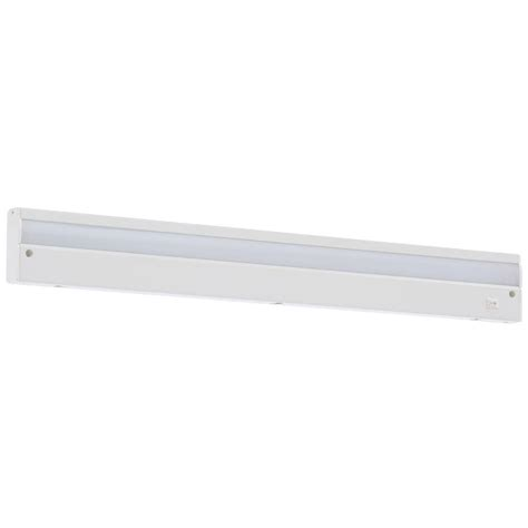 Commercial Electric 24 In Led White Direct Wire Under Wire Cabinet Lighting