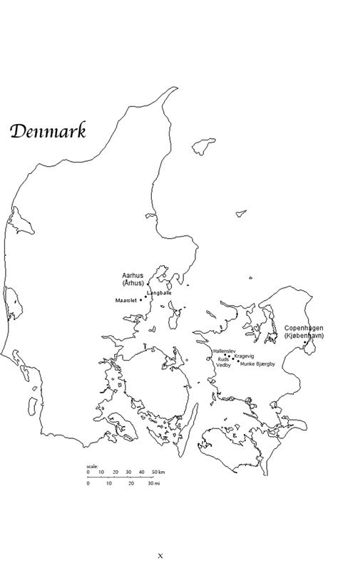 denmark map coloring page denmark map free coloring pages