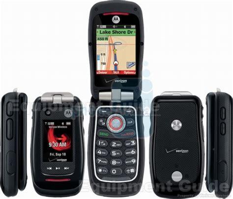 verizon readies motorola barrage v860 rugged phone