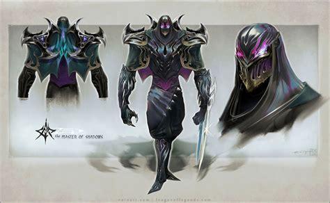 Lol Figure Karakter zed league of legends character design league