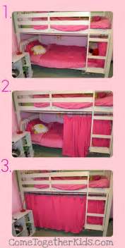 Curtains For Bunk Bed Woodwork Bunk Bed Curtains Diy Pdf Plans