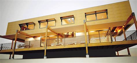 amazing low cost off grid lifehaus homes are made from prefab friday brio54 inhabitat green design