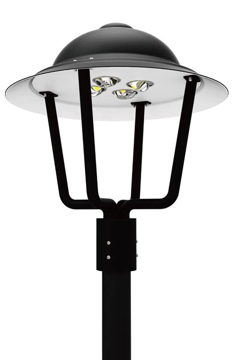 Led Area Lighting Fixtures Led Pt 110 Series Led Post Top Area Light Fixtures Americana Post Top Acorn Luminaire Duke