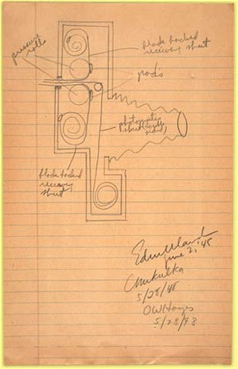 may 1948 camera prototype drawing. — new directions