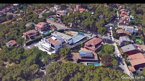 messis house leo messi s house in barcelona youtube