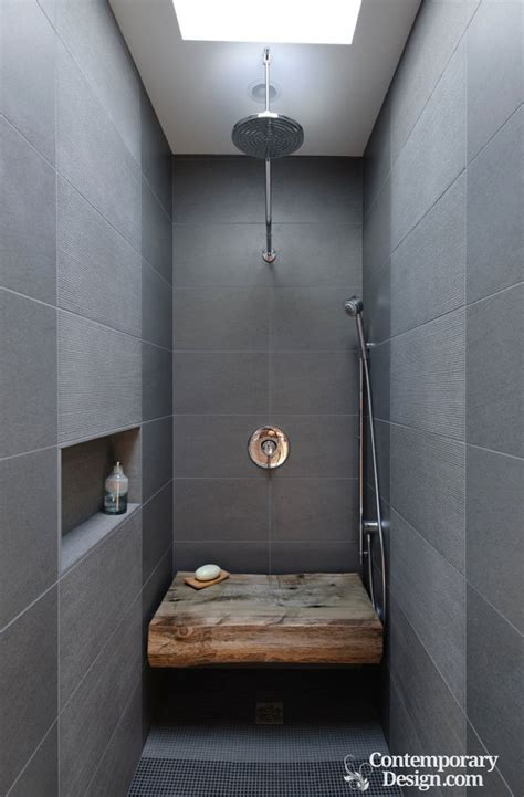 Contemporary Bathroom Tile Ideas by Small Room