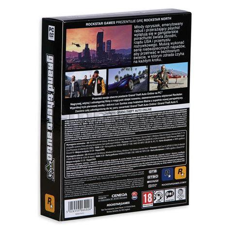 Grand Theft Auto V Pc by Grand Theft Auto V Pc Rockstar Games Gry I Programy