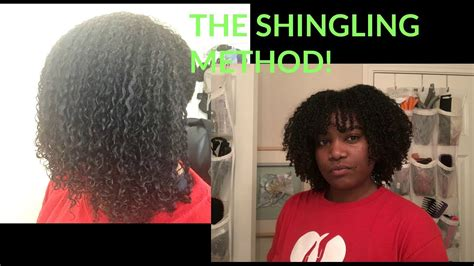 shingling method on short hair shingling method on fine curly hair renpure products