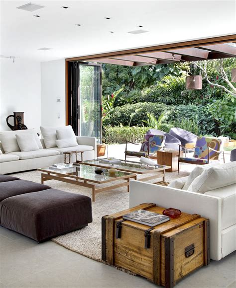 brazilian interior design tempo house interiorzine