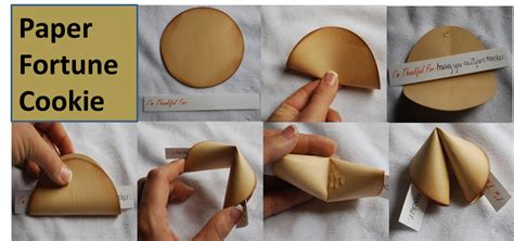 How To Make Fortune Cookies Out Of Paper - amanda s crafts and more thoughtful project thursdays