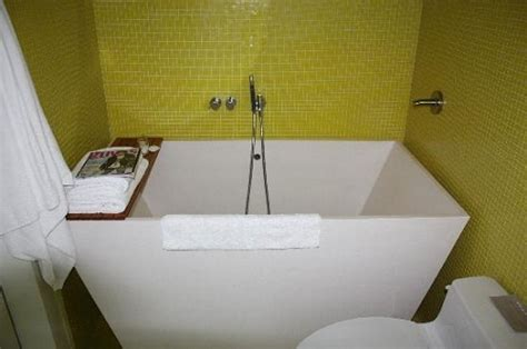 small soaking tub shower combo trends bathroom reno