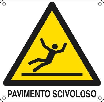 cartello pavimento scivoloso 401401k cartello di avvertimento pericolo pavimento