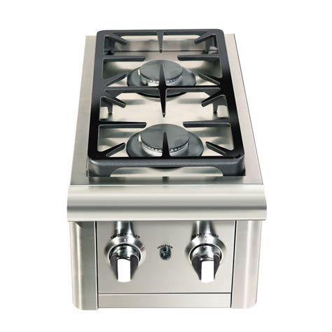 Outdoor Kitchen Gas Burner by Capital Precision 2 Burner Stainless Steel Built In
