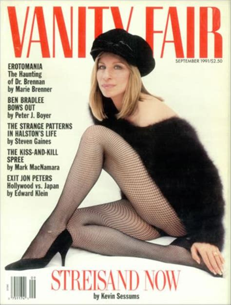 Vanity Fair Us by Barbra Streisand Vanity Fair Sept 1991 Us Magazine