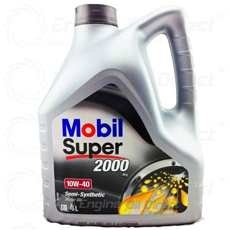 mobil free 10w 40 mobil 2000 x1 4l free and delivery