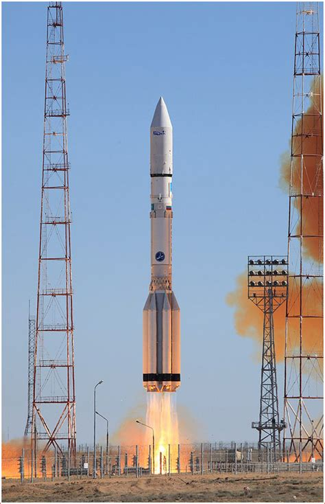 Proton Rocket Launch by Proton Missions In 2014