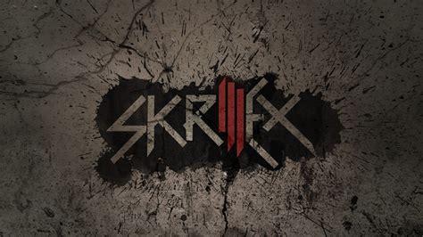 hd wallpaper skrillex logo spray