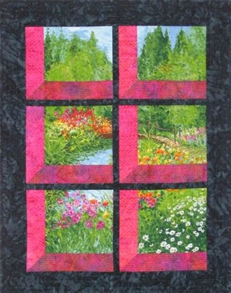 Attic Windows Quilt Pattern Free by Greig Attic Windows Quilt