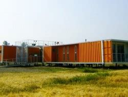 bright cargo container casa in chile container homes and buildings