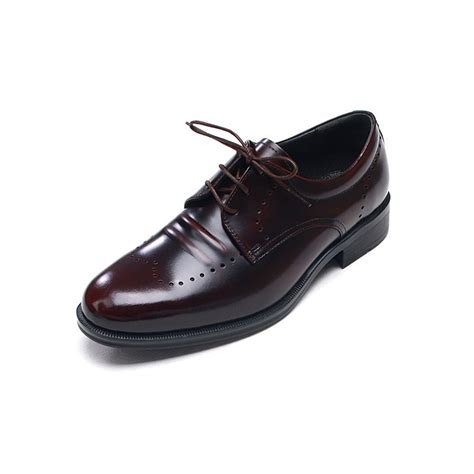 leather sole oxfords mens shoes mens brown cow leather lace up oxfords