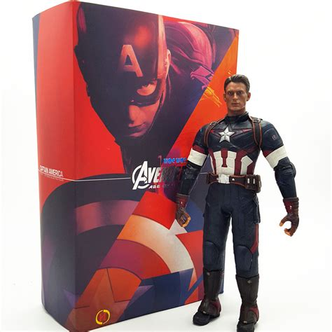 Mainan Heroes Assemle Captain America Iron 11 29cm new heroes titan series marvel captain america pvc