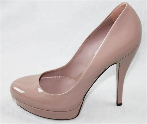 gucci high heel shoes auth gucci patent leather high heel shoes 38 5 ebay