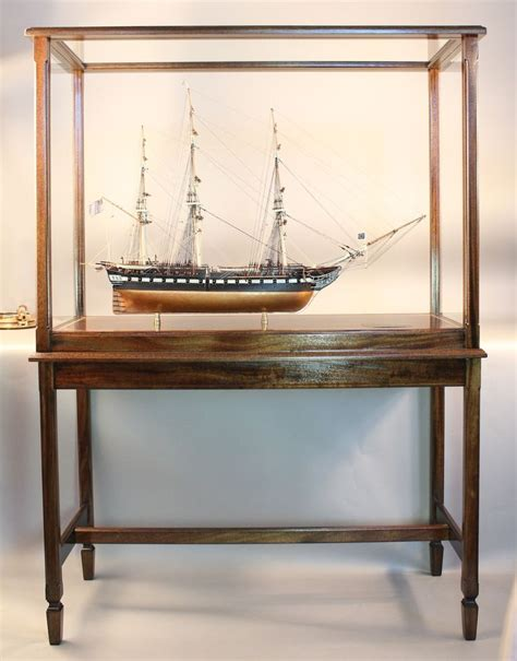 model boat glass cases 16 best images about ship model display case on pinterest